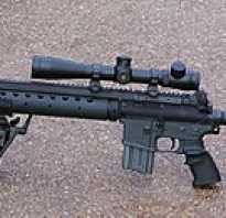 Снайперская винтовка Mk12 MOD1 (США)