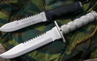 Нож для выживания: определяющие признаки и задачи