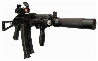 Пистолет-пулемет ПП-19-01 «Витязь» и «Витязь-СН» (Россия)