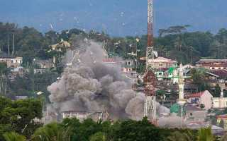 Захват филлипинского города Морави силами ИГИЛ