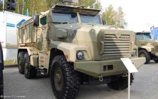 Проект «Тайфун»: Бронированная машина «Урал-63095»