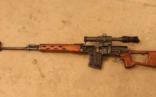 Снайперская винтовка Драгунова: точный инструмент снайпера