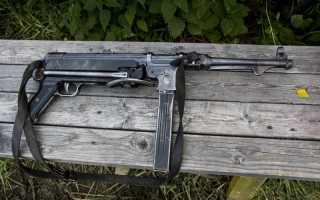 Пистолет-пулемёт MP-38 (Германия)