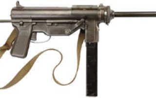 Пистолет-пулемёт M3 и M3A1 «Grease gun» (США)