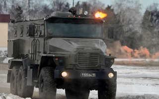 Урал-ВВ: Тактический бронированный спецавтомобиль