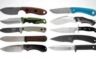 10 лучших ножей с фиксированным клинком '2020