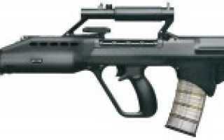 Штурмовая винтовка Kinetics SAR-21 (Сингапур)