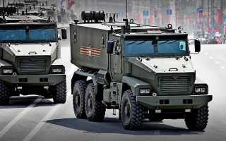 Унифицированное автомобильное шасси Урал-6370 «Торнадо-У» (Россия)