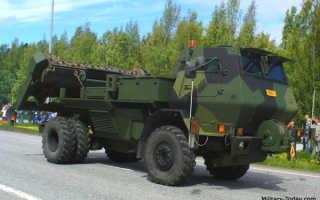 Установка разминирования RA-140 DS Raisu (Финляндия)