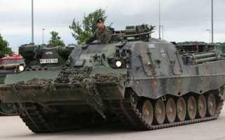 Бронированная ремонтно-эвакуационная машина BPz-3 «Buffel» (Германия)
