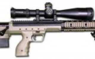 Снайперская винтовка DT SRS (США)