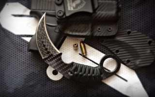 Ножи не из стали: от керамбита и фолдера до стилета и даггера