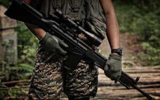Автоматическая винтовка Heckler & Koch MR223 A3 (Германия)
