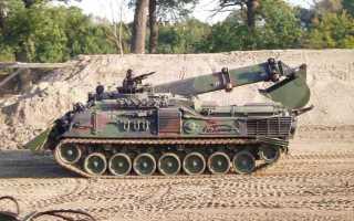 Бронированная инженерная машина Pionierpanzer 3 Kodiak (Германия)