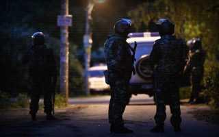 Кратовский стрелок обстрелял полицию и забросал СОБР гранатами