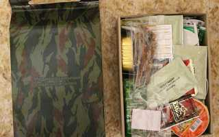 MRE — сухпаек американского солдата. Тест и выводы