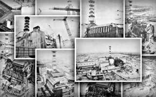 Уникальные фотографии Чернобыльской АЭС после аварии