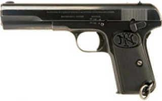 Пистолет Browning M1903 (Бельгия)