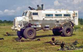 MRAP — легкие бронеавтомбили, защищенные от минного подрыва