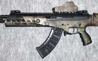 Штурмовая винтовка AK Alfa (Израиль)
