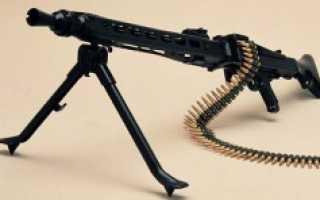 Ручной пулемет MG3 (Германия)