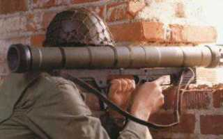 Ручной противотанковый гранатомет Armbrust (Бельгия)