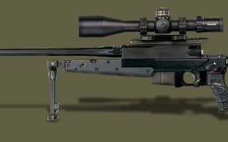 Снайперская винтовка Hambert HB308 (Франция)