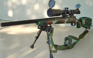 Снайперская винтовка M40A1 (Великобритания)