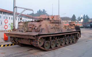 Бронированная ремонтно-эвакуационная машина Bergepanzer 2A2 (Германия)