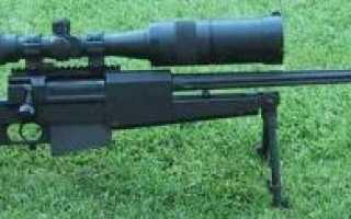 Снайперская винтовка PGM Mini-Hecate .338 (Франция)