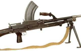 Оружие Второй Мировой: лёгкий английский пулемёт BREN