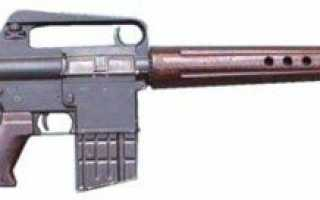 Штурмовая винтовка Armalite AR-10 (США)