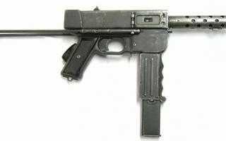 Пистолет-пулемёт MAT-49 (Франция)
