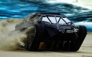 Ripsaw EV2 — гражданский танк, собираемый по предварительному заказу