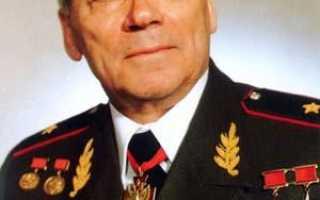 Михаил Калашников — человек и легенды