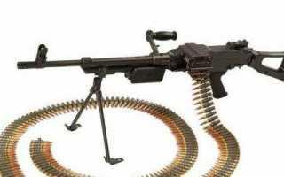 Пулемёт Vektor SS-77 / L9 (ЮАР)