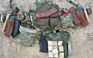 Снаряжение и экипировка современного бойца