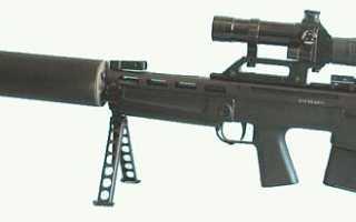 Крупнокалиберная бесшумная снайперская винтовка ВССК «Выхлоп»