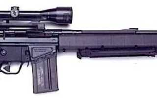 Снайперская винтовка HK MSG-90 (Германия)