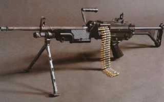 Ручной пулемёт FN Minimi / M249 SAW (Бельгия)